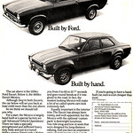 Ford Mk1 Escort Mexico Advert