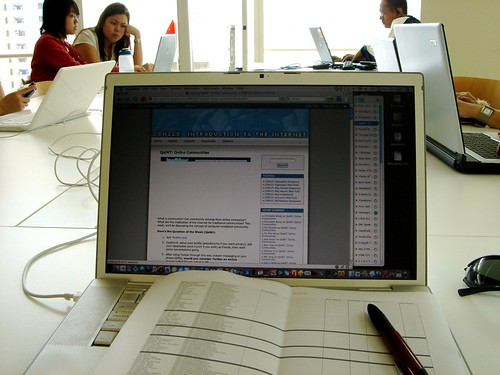 Grading Student Blogs @ National Library - 1