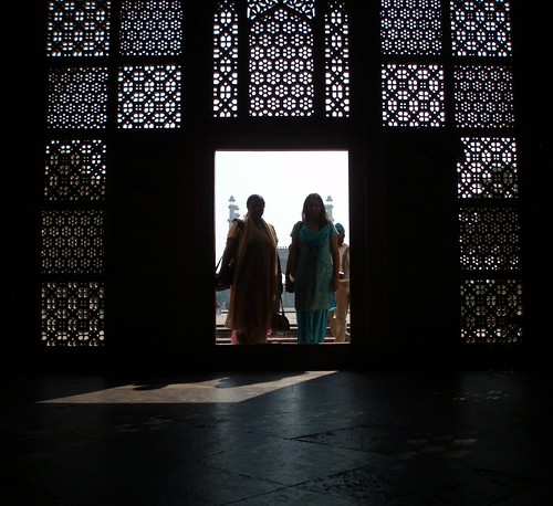 Indian women in the shadow