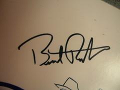 Burt Rutan's signature
