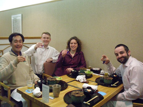 With Prof Imae, Hiroshima