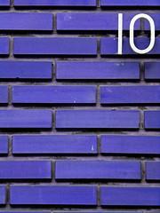 10 (Djteddy) Tags: blue detail macro brick colors wall closeup 10 couleurs number bleu brique mur numro abigfave superbmasterpiece 1on1colorful 1on1colorfulphotooftheday 1on1colorfulphotoofthedaymay2007