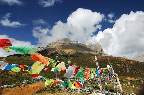 白馬雪山(海拔4292M)