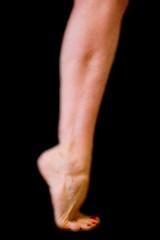 ballet study 2 (vrot01) Tags: ballerina bodylanguage v onhertoes