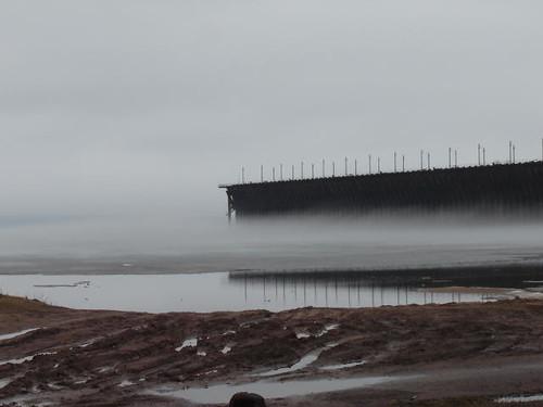 Icy fog.