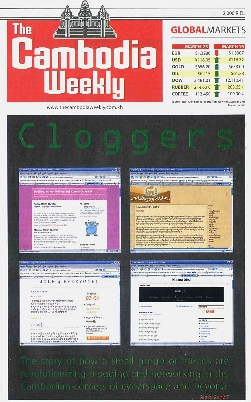 'Cloggers' Cambodia Weekly