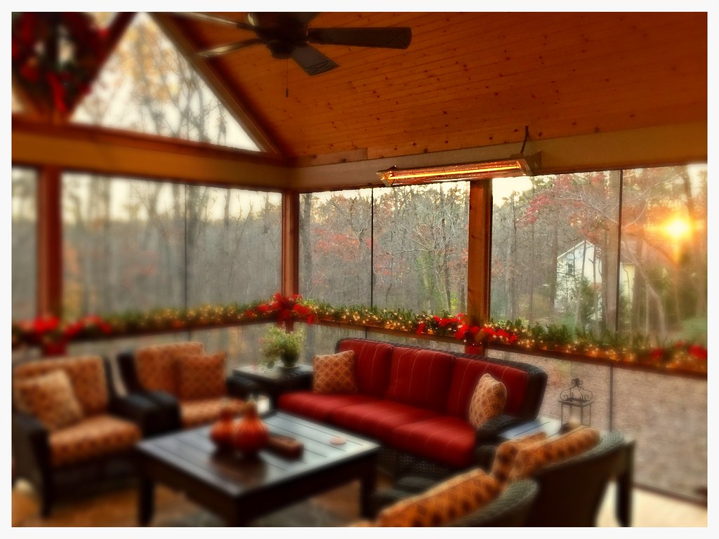 "Infratech 61"" outdoor heater. Ooltewah, Tn."