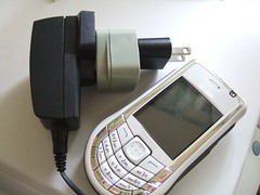 Foma NM850iG and an old AC adapter (toyohara) Tags: japan nokia 2006 mobilephone docomo foma