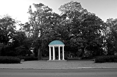 UNC-Chapel Hill's Old Well (Gallery 2 Images) Tags: blue blackandwhite bw campus acc northcarolina wells carolina heels colleges ncaa chapelhill collegiate oldwell tarheels academics uncch universities carolinablue theuniversityofnorthcarolinaatchapelhill