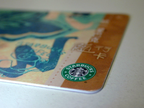 Starbucks Prepaid Card