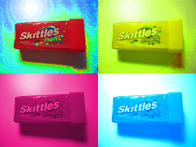 Skittles, famous for 15 minutes?