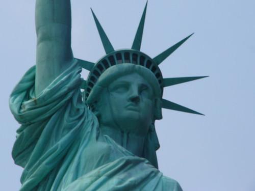 Hummingbird Tattoo: statue of liberty face drawing Statue Of Liberty Drawing Face