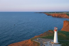 Iles de la Madeleine lighthouse (KAP'n Craig) Tags: lighthouse kite geotagged island quebec aerial kap ilesdelamadeleine fromakite geo:lat=4743 geo:lon=6186
