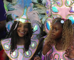 Antigua Carnival (Milena T.) Tags: carnival girls kids antiguabarbuda carebbean