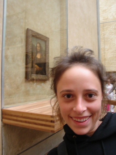 Me in front of the Mona Lisa