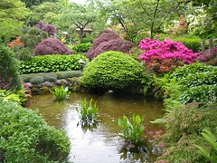 Japanese Garden, Butchart Gardens.Victoria, B.C. - by **Mary**