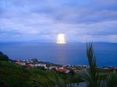 Madeira - Most beautiful show at sea (Madeira Island) Tags: ocean sea sky sun portugal nature beautiful weather clouds day cloudy atlantic madeira zz ilhadamadeira canio madeiraisland