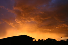 Thunderstorm Sunset (mathowie) Tags: