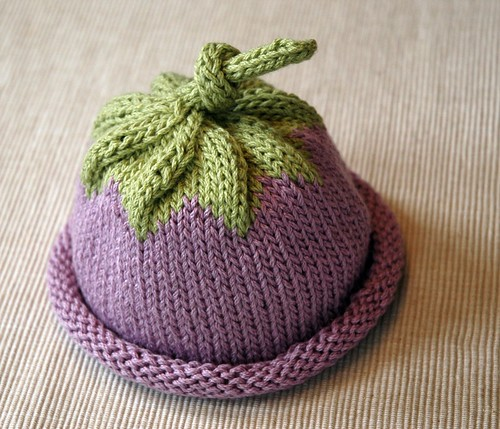 Free Knitting Pattern Baby Flower Hat : Looking for Berry Baby Hat? randomstitches