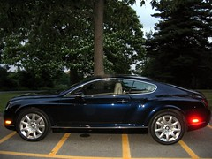 Bentley Continental GT (Wheezy Jefferson) Tags: bentley continental gt continentalgt bling car blue luxury
