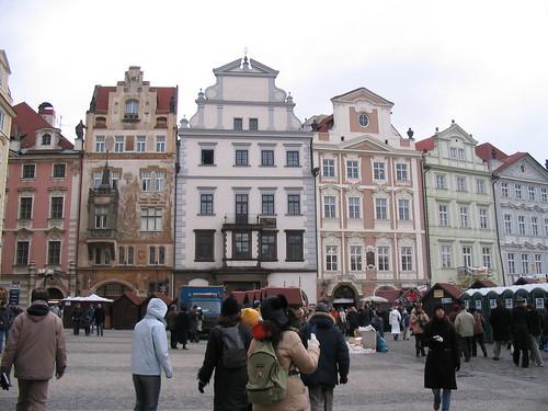 Calles de Praga Foto
