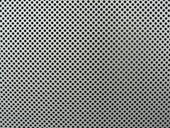 Kleine Punkte - Small Dots (raumoberbayern) Tags: red abstract black field topv111 topv2222 silver grey airport topv555 topv333 findleastinteresting pattern hole linie topv1111 topv999 topv444 feld dot topv222 minimal line topv777 loch minimalism dsseldorf topv666 muster aluminium punkt topv888 robbbilder