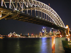 Sydney Harbour at night (Patrick Houlihan) Tags: travel vacation urban night wow topf50 bravo topc50 topv999 sydney australia circularquay 100v10f newsouthwales lunapark harbourbridge sydneyharbour sydneyoperahouse milsonspoint lifetime sweepstakes adventureofalifetimesweepstakes urbannightphoto cnncomtravelsnapshots