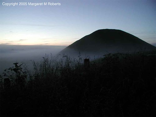 Silbury Hill at dawn