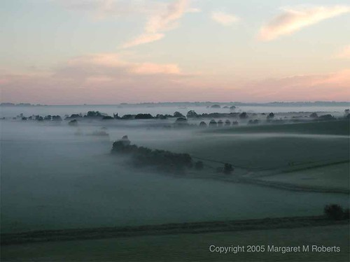 Towards Avebury before dawn
