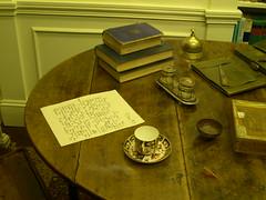 Joseph Conrad's  table