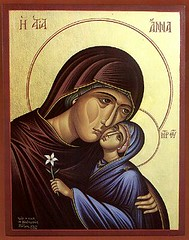 St. Anna and the Theotokos (phool 4  XC) Tags: anna icons icon orthodox orthodoxchristian stanna  phool4xc