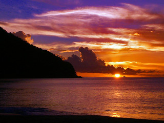 Carribean sunset