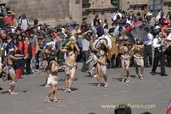 Cusco Parade 4 (juan franco) Tags: nude solstice peru cusco snake parade interesting girls amazon juan franco juanfranco jfranco