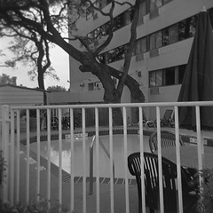 Hotel Pool, Chairs and Fence (robholland) Tags: deleteme1 deleteme2 deleteme3 deleteme5 deleteme6 deleteme7 deleteme8 deleteme9 deleteme10