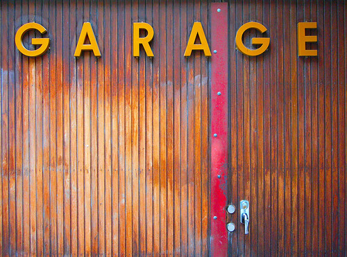 Garage Door, Södermalm, Stockholm