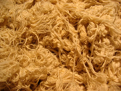 Bundles of cotton thread