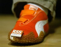 Dean Hachamovitch's RSS shoe