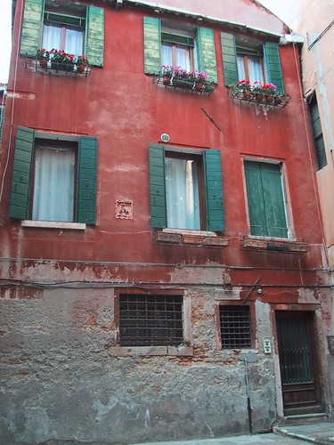 An old Venetian building -- not mine -- by mtsrs (Flickr)
