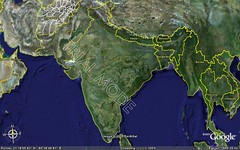 India as in google Maps