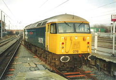 EWS Class 56 56078 - Warrington Bank Quay (dwb transport photos) Tags: ews grid locomotive 56079 warringtonbankquay warrington doncasterenterprise