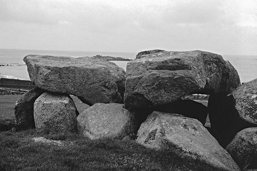 Le Catioroc Dolmen, Guernsey