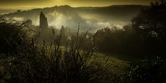 On a cold morning. (Massetti Fabrizio) Tags: countryside marche fog landscape landscapes nikond4s sunrise sun sunlight clouds italia italy