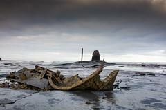 Taken by nature (chrisfisherman1) Tags: coastal wreck sea bay seashore jurassic ssi rockformation shipwreck yorkshire whitby