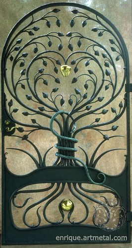 Wrought Iron Gate -