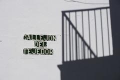 Callejon Del Tejedor, Frigiliana (the_steve_cox) Tags: street shadow del spain andalucia railing callejon frigiliana tejedor stevecox photoportunity photoportunitycom