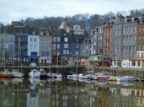 Honfleur Harbor Normandy France