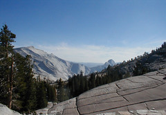 Half Dome from Olmstead Point near Tuolumne Me...