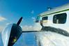 Blue Skys (Jayms) Tags: blue sky eaa aiplane rateme17 rateme25