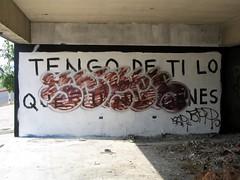 Acción Poética vs Graffiti