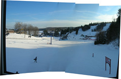 Hidden Valley chalet view (eastick_east) Tags: winter skiing huntsville skilift hiddenvalley